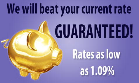 Guaranteed Low Rates